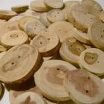 Wooden Button A..
