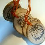 12 Rustic Wooden HangTag Or..